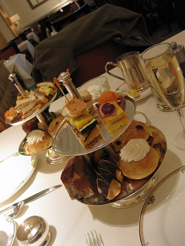 Afternoon Tea at the Mayflower Hotel