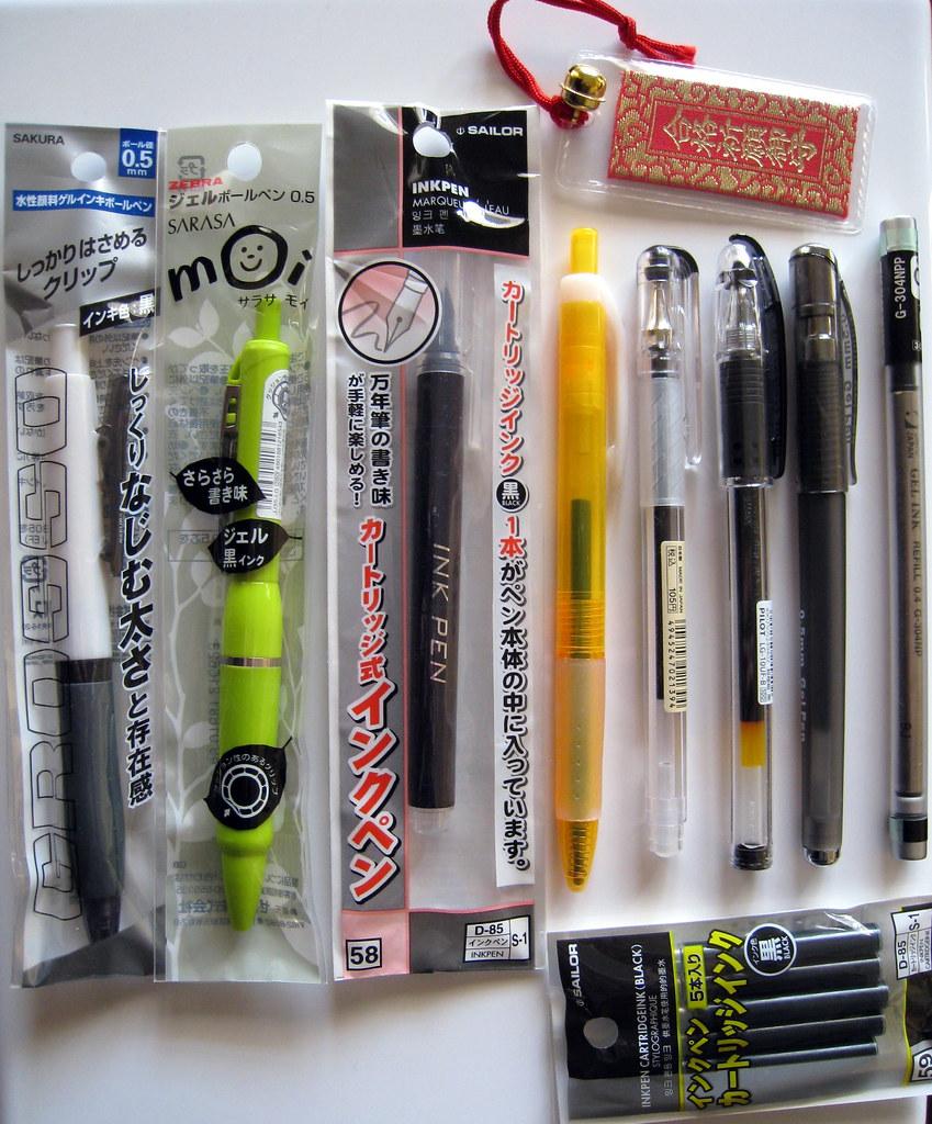 Japanese Pens