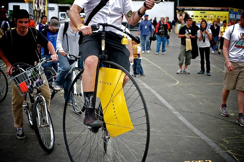 Penny Farthing Track Stand