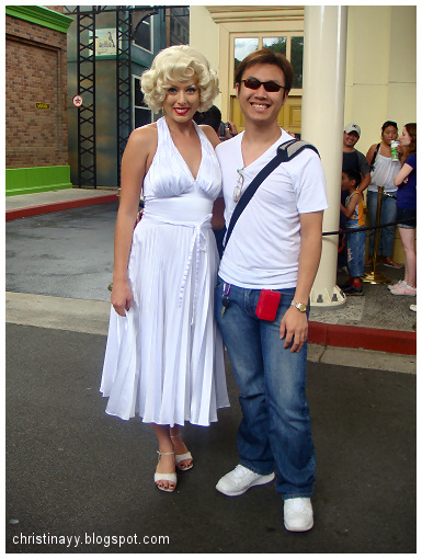 Warner Bros. Movie World: Marilyn Monroe