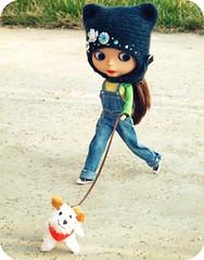 Mari on the run!