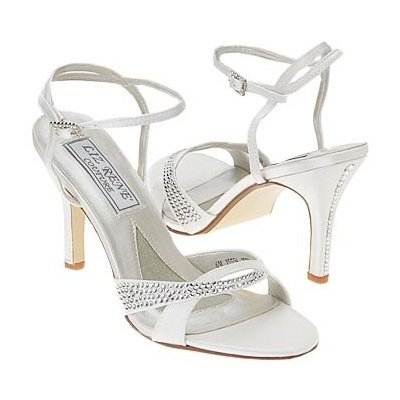 Couture Wedding Shoes on Stunning Wedding Shoes High Heel From Liz Rene Couture