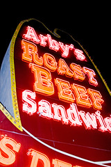 Arby's sign (edfredned) Tags: sign neon texas arbys photophotograph edfredned
