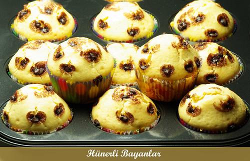 Muzlu Pudingli Muffin