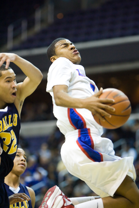 Ballou DeMatha boys high school basketball washington dc verizon center city title championship Quinn Cook