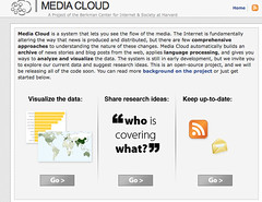 Media Cloud (http://www.mediacloud.org/)