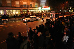 U2 at Somerville Theater (Cavutto) Tags: people boston u2 ma theater theatre massachusetts crowd somerville davis davissquare crowded somervilletheatre bostonist somervilletheater universalhub