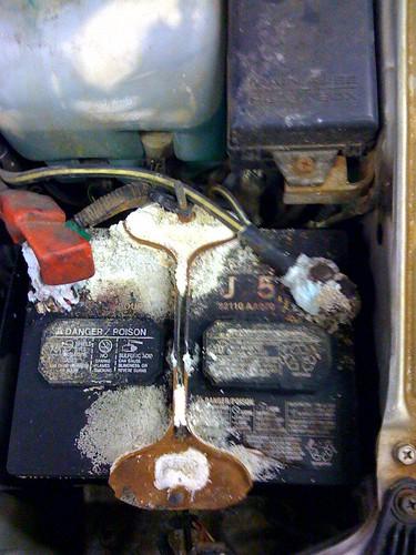 Battery Acid At Work