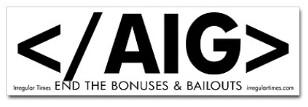 AIG bonuses t-shirt