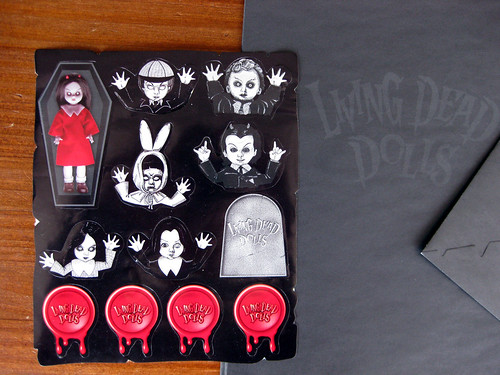 Living Dead Dolls stickers