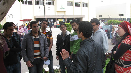 hakky movement activists in mansoura university by you.