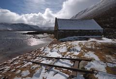 Boatshed. (stonefaction) Tags: landscape scenery aberdeenshire meetup flickrmeet braemar faved lochmuick