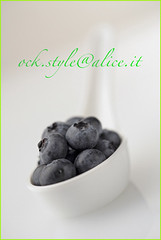 Fruits - Blueberries in Chinese Spoon
