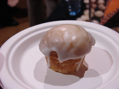 Smoke Joint's Bourbon Cupcake