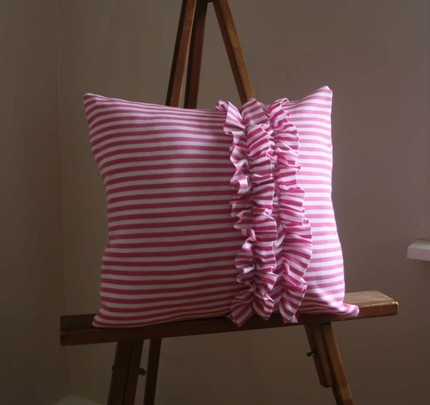 hettle etsy pink candy pillow