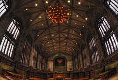 Harper memorial library - mark your seat and your favorite book with a note! (kern.justin) Tags: park glass stone reading book nikon memorial flickr library room award william stained hyde universityofchicago harper rainey cubism supershot d700 theperfectphotographer photographersgonewild kernjustin wwwthewindypixelcom thewindypixel