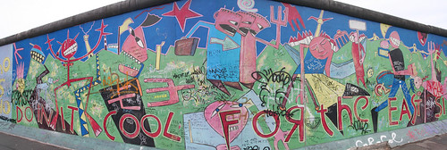 East Side Gallery panorama