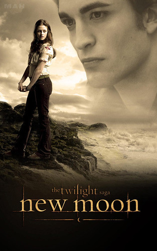 New Moon Movie Poster {bella & edward} by lubbie_luvs_twilight.