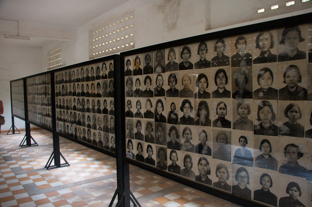 Tuol Sleng Genocide Museum by Christian Haugen, on Flickr