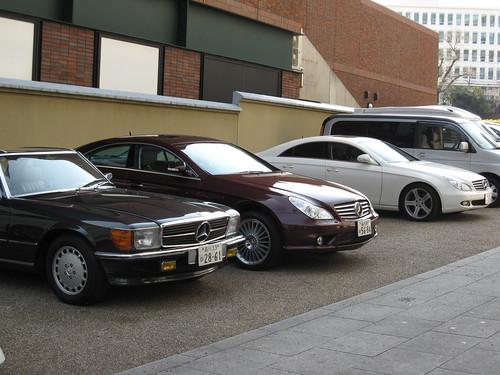 Mercedes Benz SL & CLS