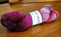 Bleeding Hearts yarn