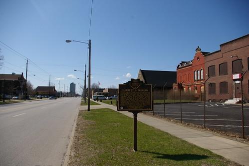 Garrett A. Morgan historical marker