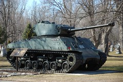 Beechwood_5 (GRB_Ott) Tags: ontario canada tank ottawa vanier sherman tanks shermantank beechwoodcemetery royalcanadianarmouredcorps hvss m4a2e876