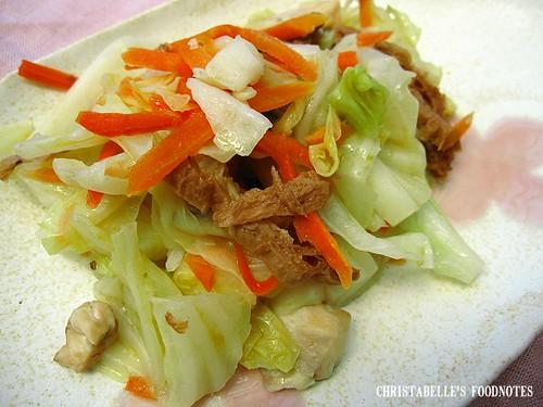 紫金堂香草美人餐D3午鮮菇炒高麗