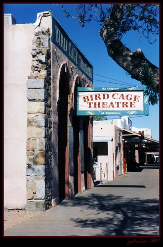 Tombstone AZ 1997 - Birdcage Theater
