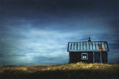 Photographs from Finland (selphie10) Tags: blue house storm art finland photography one place desert nowhere