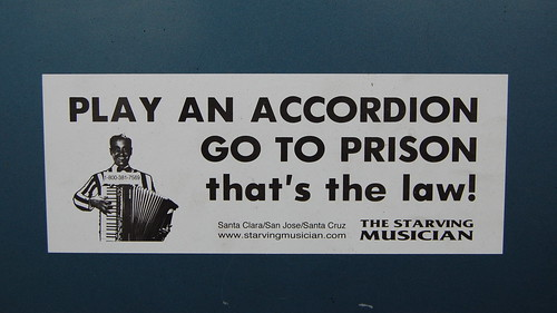 Play An Accordian