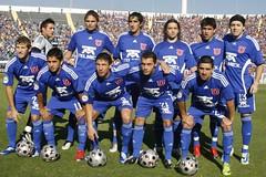 La U. de Chile Vs. Colo Colo (Sergio Acevedo Valencia. El hacer, el experimentar) Tags: futbol clasico chileno coloc universidaddechile colocolo udechile