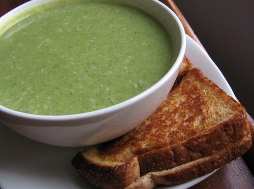 Zucchini-Cheddar Soup