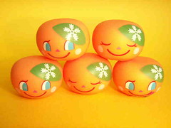 Kawaii Zakka Toy Doll Rubberdoll Happy Oranges Cute Mascot Craft Project Stuff Inspirations Japan (Kawaii Japan) Tags: cute smile japan kids children asian toy japanese miniature promo doll child kitsch mini rubber mascot tiny kawaii kitschy decor deco rare hardtofind rubberdoll hardtoget