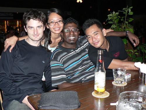 Richard, Me, Jeevan & Salihin