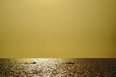 Gulf streams (Mario Seplveda) Tags: ocean sunset sea sky sun color colour sol beach water colors silhouette landscape atardecer mar reflex agua colours gulf playa paisaje mario colores seawall cielo reflejo silueta gul sepulveda golfo reflejos campeche oceano malecn seplveda the4elements seplveda