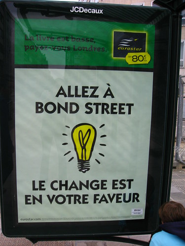 Allez à Bond Street