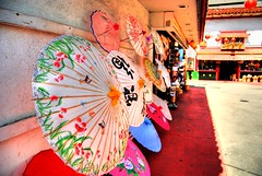 Chinatown (mellowman211) Tags: losangeles downtown chinatown hdr parasols