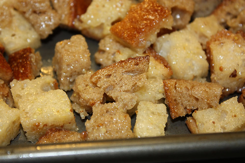 Soon to be croutons