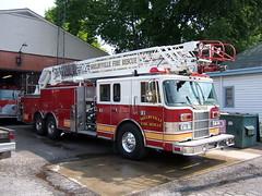 Shelbyville FD (columind99) Tags: fire kentucky engine pierce ladder shelbyville quint
