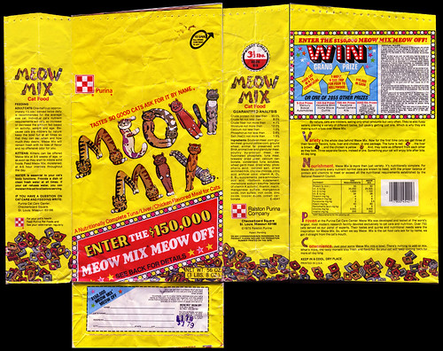 Purina Meow Mix bag - all sides scan - 1976-1977