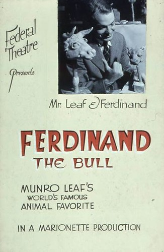 Top 100 Picture Books #17: The Story of Ferdinand by Munro Leaf, illustrated by Robert Lawson