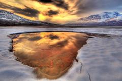 HDR from Rostadvann, Norway (Tor Even Mathisen) Tags: winter norway tromsø troms waterhdr rostadvann