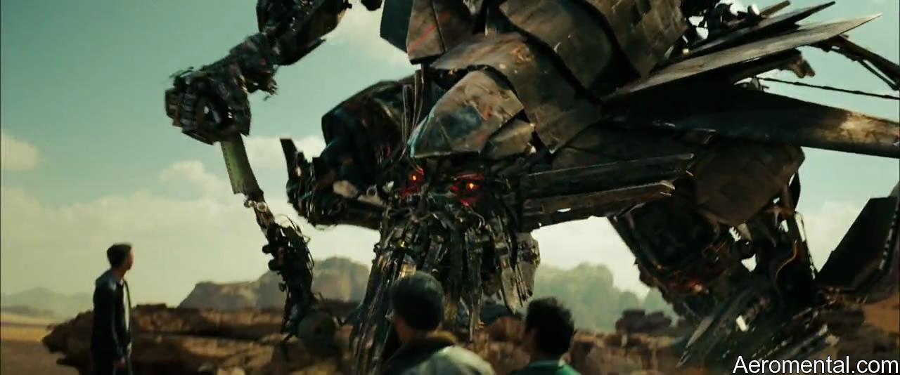Transformers 2 Jetfire robot