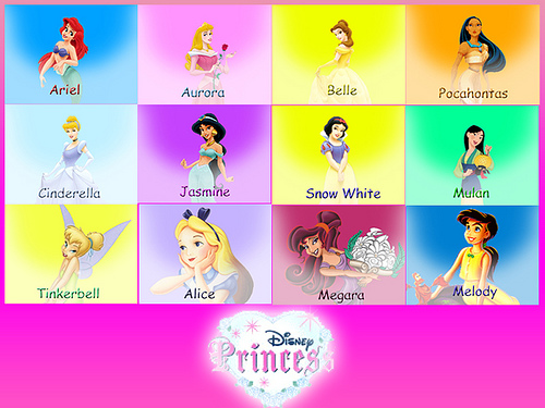 Disney Princesses All Disney