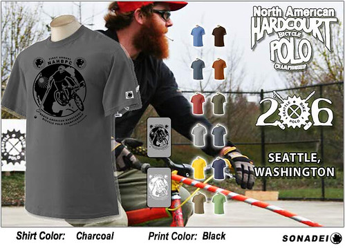 Sonadei seattle bike polo shirt ad