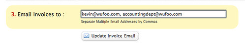 Email Invoices to Multiple Addresses