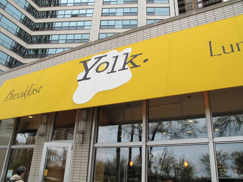 Yolk - great breakfast spot on Michigan Ave.