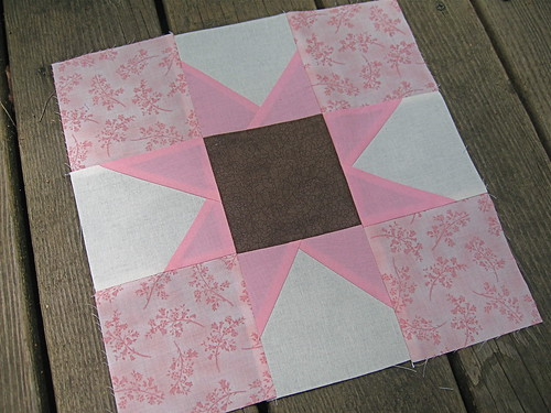 bee inspired | Star Block for Deanna