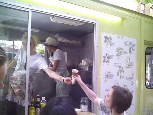 van leeuwen ice cream truck brooklyn new york